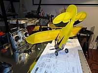 Name: build11.jpg Views: 227 Size: 38.8 KB Description: SA AeroLite covering, Du-Bro - DUB150MW 1-1/2 in Mini Lite wheels -