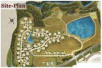 """Name: site plan.jpg Views: 153 Size: 72.1 KB Description: 3rd phase """"closest"""" to the pond won't be built until next year..... so, it's a bit more open."""