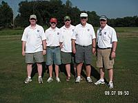 Name: Team Stevens.jpg Views: 128 Size: 136.7 KB Description: L to R Bill, his son Daniel, Mike, Dad, Me
