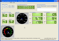 Name: FlightLogAnomaly.png Views: 859 Size: 148.2 KB Description: JR Flight Log interface showing weird data...