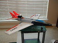 Name: wave-repair.jpg Views: 178 Size: 59.9 KB Description: Wave repaired, new nose section, wing repaired and I replaced the 64mm fan with WM300 fan.