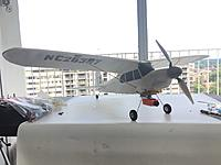 """Name: IMG_3156.JPG Views: 2 Size: 568.5 KB Description: With the mods I have on this bird ,I call it my """"GWS Super Cub""""."""