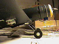 Name: DSC06692.jpg Views: 107 Size: 39.8 KB Description: This Cox Corsair is equipped with a AR6400L and needs a lot of weight forward to achieve proper COG. You can see the Vertical lipo mount in this pic.