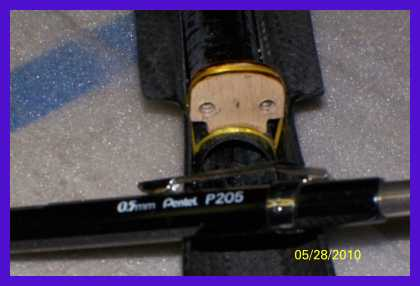 Name: 100_0475.jpg Views: 199 Size: 32.8 KB Description: Bulkhead.  Slots for control rods and wiring harness.