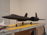 Name: SR-71 009.jpg Views: 196 Size: 62.9 KB Description: wires hanging down are the actuator pushrods for the main gear.