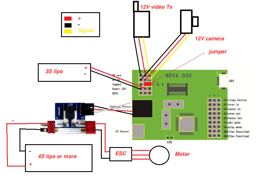 bec wiring diagram for fpv for 7 pin trailer connector wiring diagram for haulmark skywalker and nova osd - rc groups