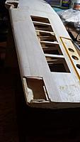 Name: 20190203_125408.jpg Views: 24 Size: 836.8 KB Description: A crunched wingtip that needs new sheeting.