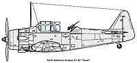 Name: AT-6C(side).jpg Views: 18 Size: 265.2 KB Description: Here you can see the Browning in the nose, as well as the tail-gunner. And are those guns in the wing?