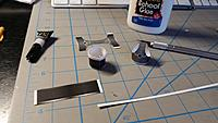 """Name: 20190208_142114.jpg Views: 21 Size: 1.48 MB Description: Cylinder and the center of the head. I added a 1/8"""" strip around the top of the cylinder to make a snug fit with the head. The head will cover over the strip when glued."""