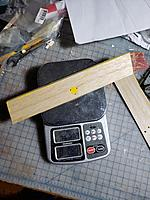 Name: 20200201_163251.jpg Views: 11 Size: 4.65 MB Description: This was the heaviest aileron. This balsa was harder to cut with an Xacto than pinewood.