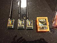 OrangeRX 1W JR module LRS with three OrangeRX OpenLRS Receivers - RC