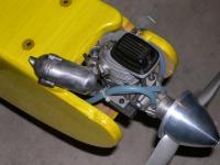 Conversion of Nitro powered Senior Telemaster to Electric