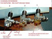 Name: 3 RESTORED ENGINES ARDEN 99 2014 01.jpg Views: 89 Size: 220.8 KB Description: