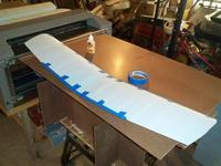Name: kdk_0215.jpg Views: 1603 Size: 38.5 KB Description: Then tape over the length of the dowel to control the exspansion. This leave a very clean installation. Ready to untape in about 30 minutes.