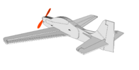 Name: SEMFF Tucano.png Views: 1741 Size: 49.7 KB Description: The rudder and elevator servos sit side by side as well.