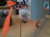 Name: kdk_1700.jpg Views: 447 Size: 131.0 KB Description: Oops! Mounted the arm on the wrong side. Redo it.