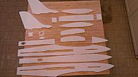 Name: IMAG0808.jpg Views: 156 Size: 252.9 KB Description: Most of the fuselage parts. Sans corner doublers. I want to be able to really round out this fuselage.
