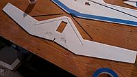 Name: IMAG0877.jpg Views: 146 Size: 281.0 KB Description: Apply glue evenly to the KF panel. I use a plastic card to squeegee the glue out thin. Start with only half the glue you think you'll need. You can always add more if needed. You need just enough.