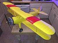 """Name: IMG_1654.jpg Views: 384 Size: 525.6 KB Description: Outside of the hardware, there is only about $30 worth of material into this 48.5"""" wingspan beauty. Even the  tires are 3D printed out of flexible material."""
