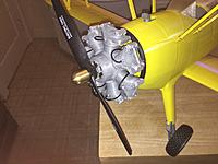 Name: IMG_1655.jpg Views: 342 Size: 534.3 KB Description: A nice radial motor that could be used with other models as well. The landing gear is fully functional. The springs are 3D printed too.