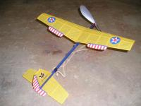 """Name: pt-19 sky-bunny.jpg Views: 659 Size: 79.7 KB Description: Peck-Polymers """"Sky-Bunny"""" that I built for my best friend and tissued to resemble a PT-19."""