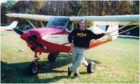 Name: ericplane.jpg Views: 438 Size: 57.8 KB Description: Me with the 1958 Piper Tri-pacer.  I solo'd in this plane