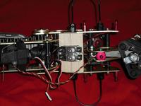 Name: bikeservo.jpg Views: 125 Size: 72.5 KB Description: Plywood and BMS-385DMAX servos. Not shown the large metal arm for each.