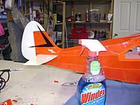 Name: Tri-Pacer Build 003.jpg Views: 259 Size: 81.9 KB Description: Good old Windex method!