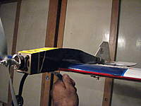 Name: october 2009 013.jpg Views: 212 Size: 96.5 KB Description: 4th design  The motrolfly made this plane too nose heavy but I was able to get the correct cg by just moving everything to the back.