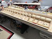 Name: IMG_1545.jpg Views: 26 Size: 802.7 KB Description: All ribs in place along with leading and trailing edges