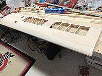 Name: IMG_1554.jpg Views: 30 Size: 764.5 KB Description: Wing has been finished...initial sanding done