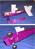 Name: Rogallo 1.jpg Views: 106 Size: 91.2 KB Description: Holes under battery/ESC let air in. Half of a spinner package as outlet, prop blast sucks air though fuselage for cooling.