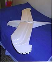 Name: 7ft foam eagle 2.jpg Views: 816 Size: 50.7 KB Description: Carbon fibre tube spars slide into ferrules across fuselage.