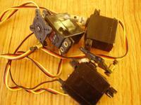 Three Hitec HS 225 MG Mighty Mini Servos - RC Groups