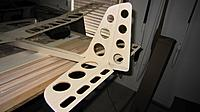 Name: Empennage 2.jpg Views: 217 Size: 119.5 KB Description: Sanded and hinged, but not attached, yet...