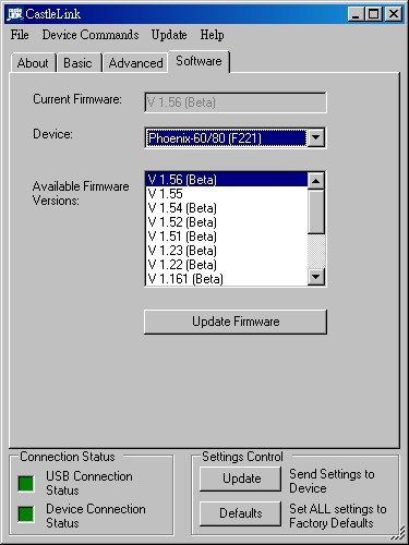 Discussion Phoenix 80 Can't Update to 2 0 firmware with