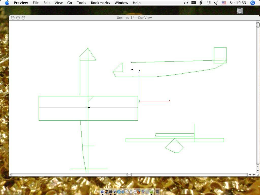 "Name: Arado.jpg Views: 367 Size: 64.2 KB Description: wing-- 45X11/ 463sqs. 6""dia X60"" long fuse"