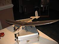 Name: V2.jpg Views: 273 Size: 49.4 KB Description: Version 2 - Fuselage (balsa), wings & tailfeathers (depron foam)