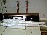 Name: PICT0001.jpg Views: 715 Size: 56.6 KB Description: Super Lightning (Wild Hawk) fuse halves with reinforcement foam structure