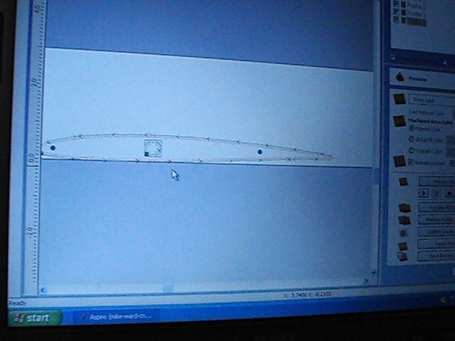 Name: PIC_0032.jpg Views: 91 Size: 89.5 KB Description: This is the image of the of the foil with the CNC tool paths calculated.