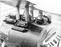 Name: Rickenbacker.jpg Views: 485 Size: 20.2 KB Description: Top American ace Eddie Rickenbacker in his Nieuport 28
