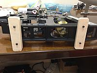 Name: IMG_0681.jpg Views: 91 Size: 605.9 KB Description: Wooden blocks mounted to feet of the mechanics.