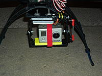 Name: SAM_0624.jpg Views: 96 Size: 223.2 KB Description: And here it is with the camera mounted. A single piece of looped velcro applied very tightly is all I used.