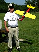 Name: IMG_0268.jpg Views: 40 Size: 198.9 KB Description: Rich with his new 64mm EDF scratch built plane.