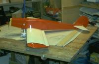 Name: IMG00003.jpg Views: 220 Size: 54.0 KB Description: Side shot. Ace foam wing, strip ailerons with homemade linkage.