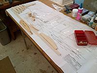 Name: Armageddon Construction 09-27-2013 (3).jpg Views: 39 Size: 697.7 KB Description: Component parts cut out