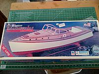 Midwest Cranberry Isle Lobster Yacht kit #984 - RC Groups