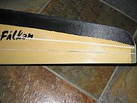 Name: Falken 50% chord zigzag turbulator.JPG Views: 700 Size: 150.0 KB Description: