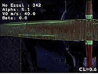Name: Windtunnel left wing Alpha 5.1 Cl 0.6.jpg Views: 80 Size: 54.5 KB Description: