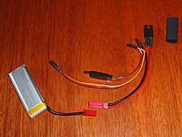 Name: 1S battery back-up.JPG Views: 346 Size: 141.0 KB Description: Battery back-up system before final heat shrink.